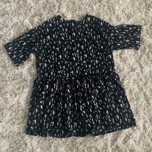 ASOS Black & White Flowy Dress